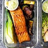 Wasabi Grilled Salmon Bowls