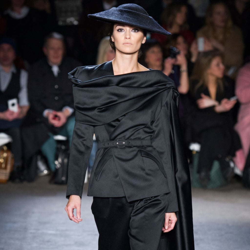 The Vintage Jet-Setter Lands at Christian Siriano