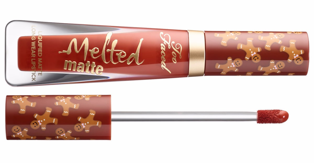 Too Faced's Gingerbread-Scented Melted Matte Lipstick Is Christmas In a Bottle