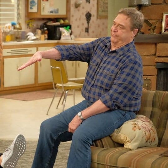 John Goodman Quotes About Roseanne Not on The Conners