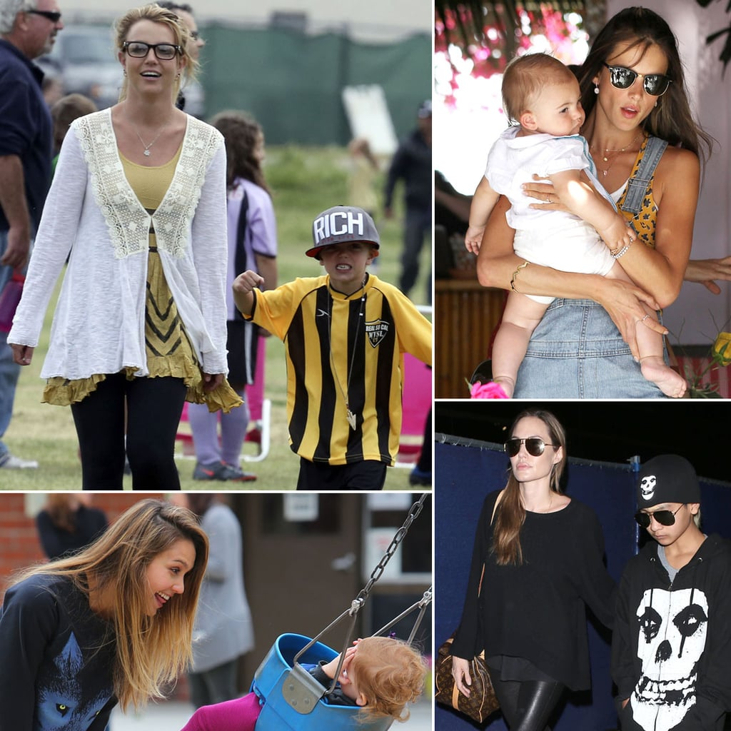 Celebrity Family Pictures Week of April 15, 2013