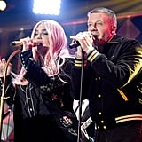 Pictured: Kesha and Macklemore