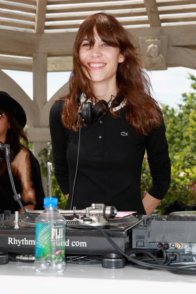 Alexa Chung helmed the turntables.