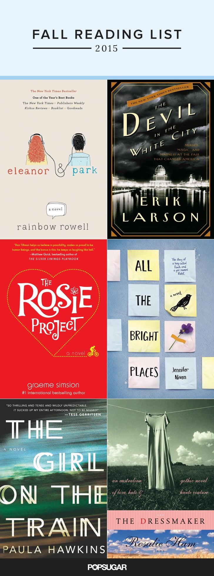 Fall Reading List