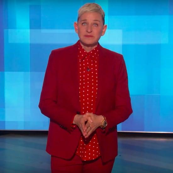 Ellen DeGeneres Remembers Kobe Bryant in Monologue | Video