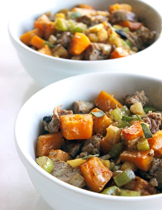 Paleo Sausage and Butternut Squash