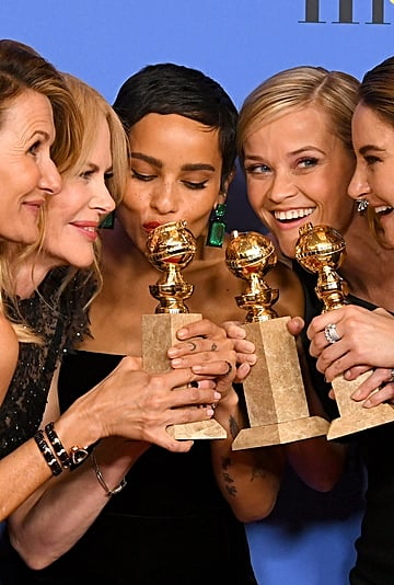 Iconic Celebrity Golden Globes Pictures