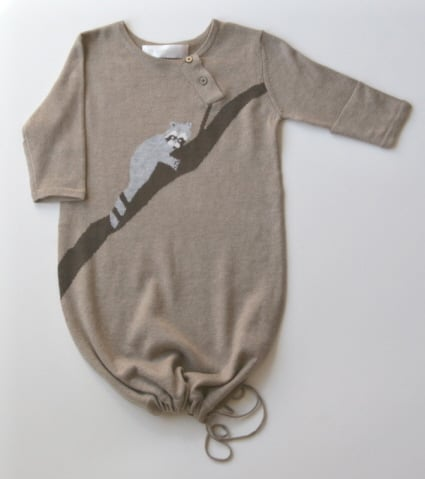Brown Raccoon Gown ($60)