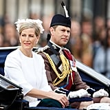 Pictured: Sophie, Countess of Wessex, and Prince Edward.