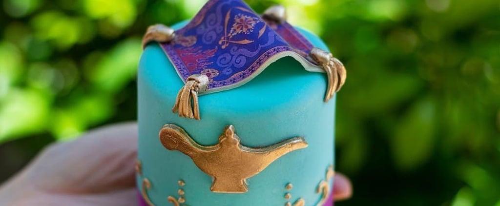 Disney World Aladdin Magic Carpet Cupcake