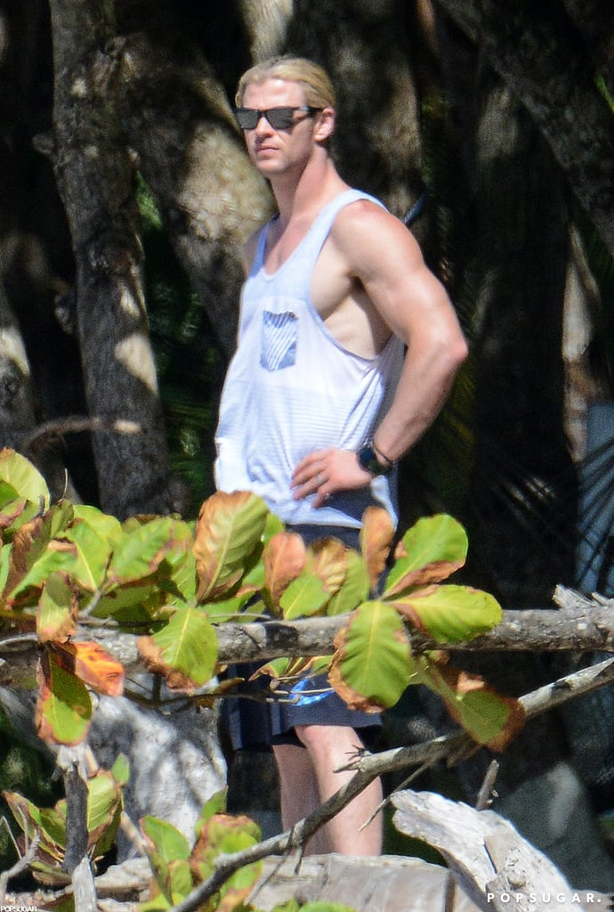 Miley and Shirtless Liam Get Romantic During a Family Costa Rica Trip