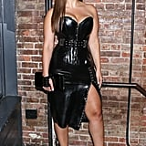 Ashley Made a Statement in Latex at the V Magazine Party