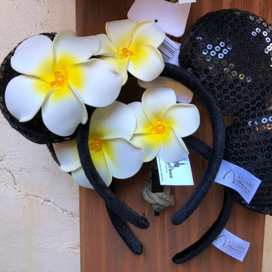 Aulani Plumeria Ears at Disneyland's Tropical Hideaway