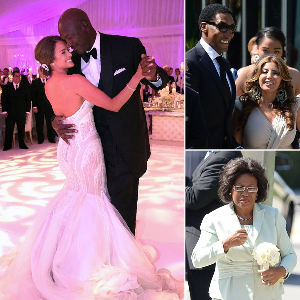 michael jordan and yvette prieto wedding pictures