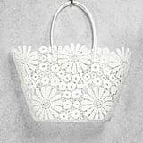 Forever 21 Daisy Crochet Tote Bag