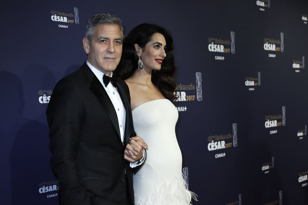 Amal Clooney's Versace Dress at the 2017 Cesar Awards