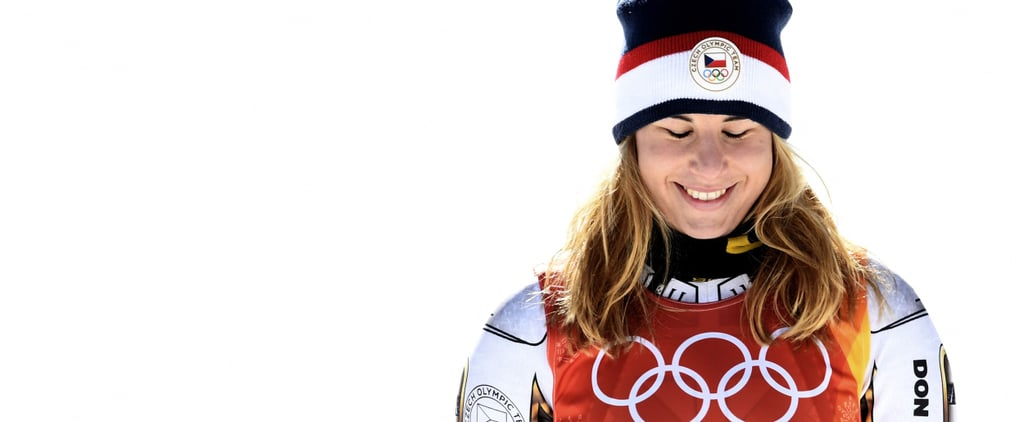 Ester Ledecka Won Gold in the Super-G — and She Was Wearing Mikaela Shiffrin's Skis!