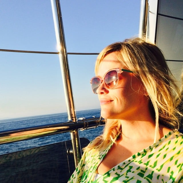 """For Reese, this view was pure """"#Bliss."""" Source: Instagram user reesewitherspoon"""