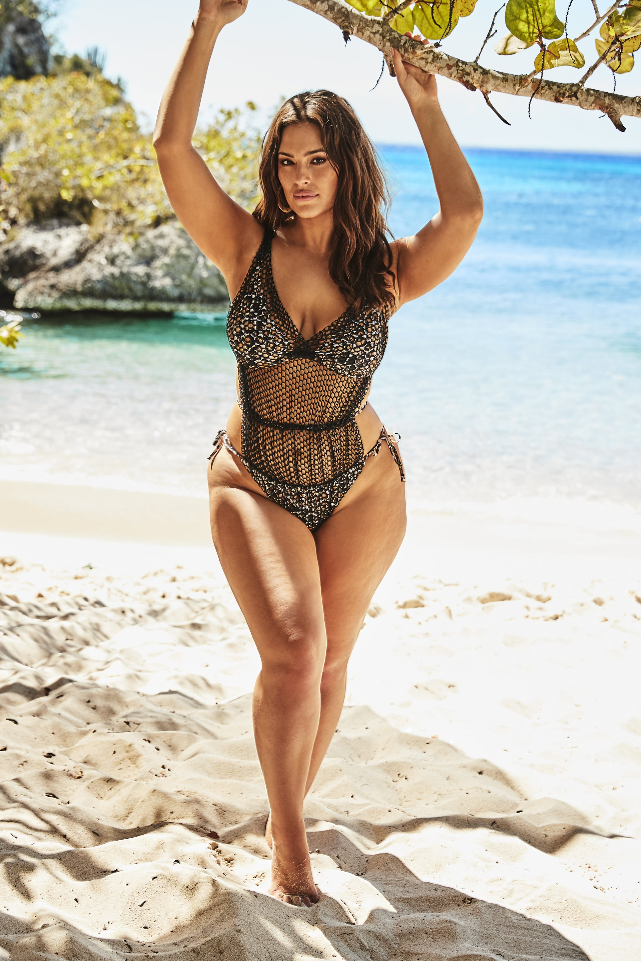 142540a5607 Ashley Graham x Swimsuits For All Phenom Triangle Monokini | Ashley ...