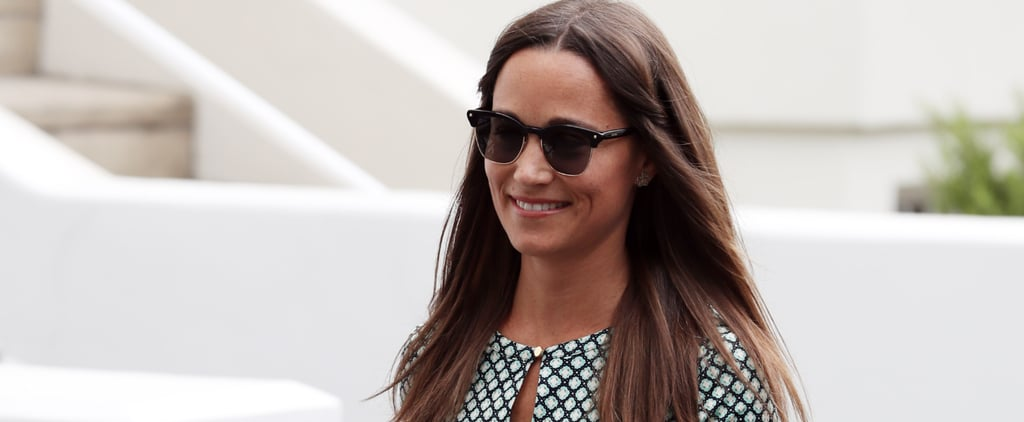 Newly Engaged Pippa Middleton Probably Couldn't Stop Smiling If She Tried