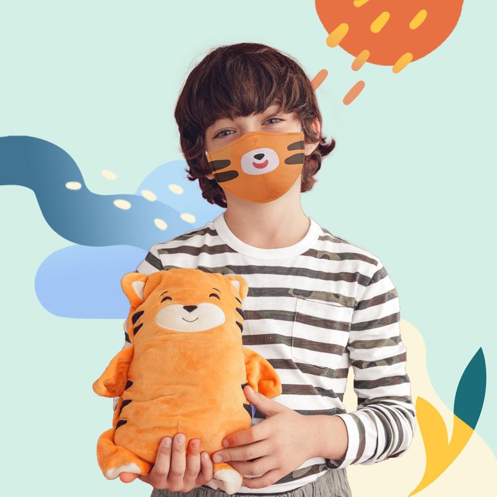 Cubcoats Face Masks For Kids — Tiger