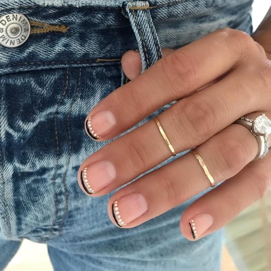 French Moon Nail Art Is the New French Manicure