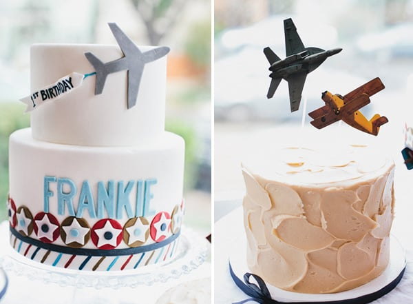 Big and Mini Airplane Cakes Mini Cakes For Kids POPSUGAR Moms