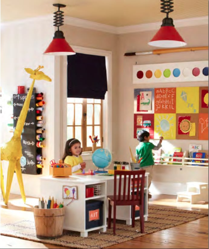 Though Better Suited For A Playroom Or Classroom, The New
