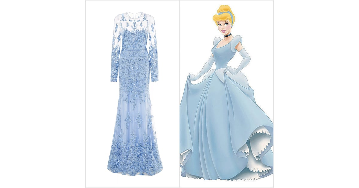 Disney Princess Wedding Dresses | POPSUGAR Fashion