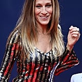 Sarah Jessica Parker Brings Her Boys to the Theater