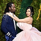 Offset and Cardi B at the 2019 Diamond Ball