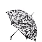 Diane von Furstenberg's umbrella ($45) features a chic graphic print.