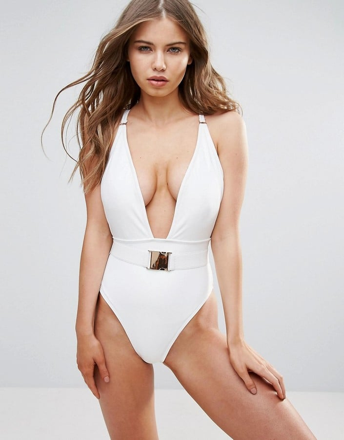 Wolfwhistle Wolf & Whistle Plunge Swimsuit