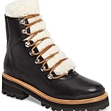 Marc Fisher LTD Izzie Genuine Shearling Lace-Up Boot