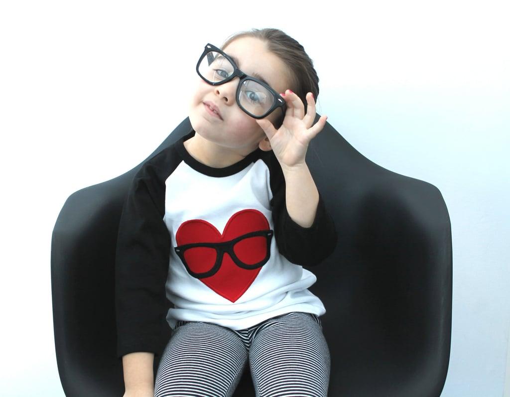 Geek Love Heart Shirt
