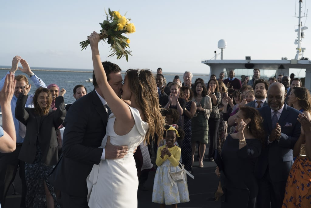 Alex and Jo get married
