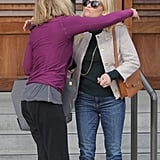 Reese Witherspoon and Chelsea Handler Having Lunch in LA