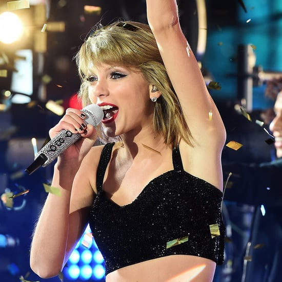 Taylor Swift Rings In 2015 With Confetti, a Crop Top, and Freezing Temperatures