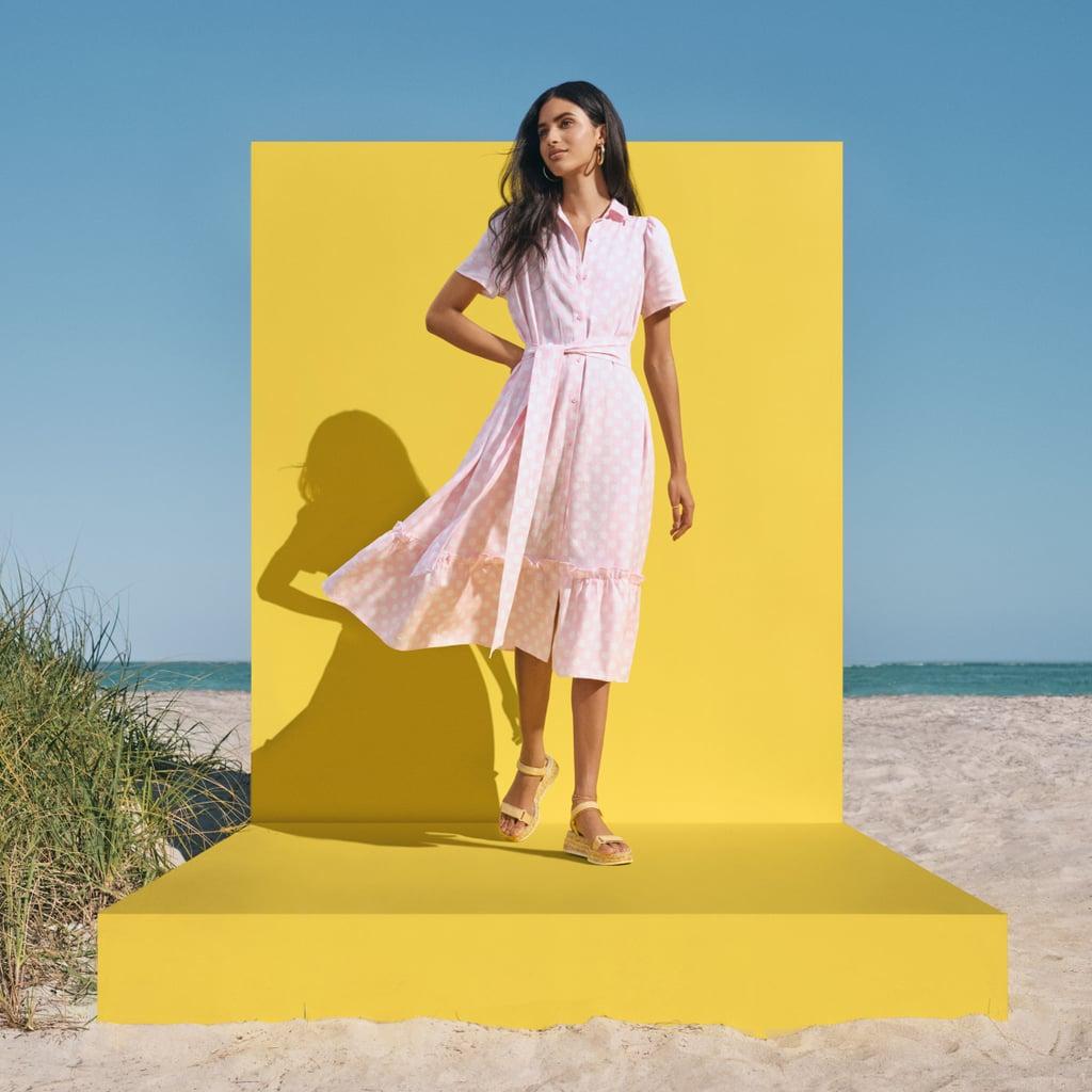 Lisa Marie Fernandez for Target Polka Dot Puff Sleeve Shirtdress
