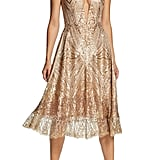 Dress the Population Leona Art Deco Sequin Fit & Flare Dress