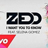 """I Want You to Know"" by Zedd featuring Selena Gomez"