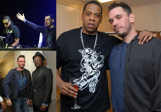 Photos of Jay-Z, DJ AM at Re-Opening of Hollywood Palladium