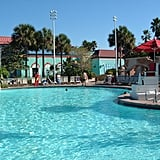 Disney World's Beach Club Resort pool holds 750,000 gallons of water.
