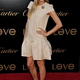 A sweet, feminine sheath dress for a Cartier charity event in June '08.