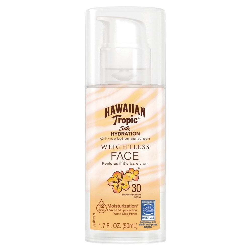 Hawaiian Tropic Silk Hydration Weightless Face Sunscreen