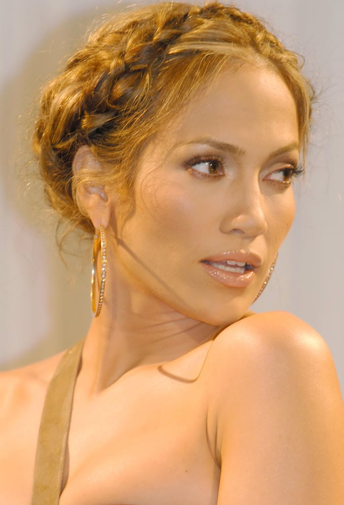 Jennifer Lopez's Braided Crown in 2005