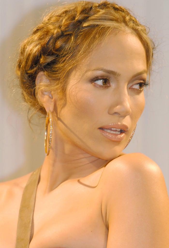 Jennifer Lopez's Milk Braid in 2005