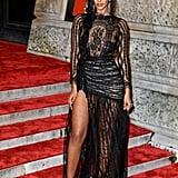 Maya Jama at the 2019 BAFTA Awards