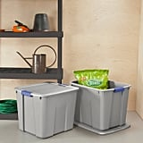 Twenty-Gallon Latching Utility Storage Tubs and Totes