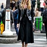 Sarah Rutson at Fashion Week Fall 2016